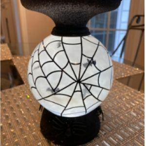 BBW Halloween Globe Candle Holder